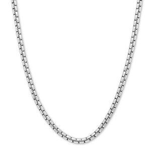 Jewelry - Sterling Silver Mirror Box Chain